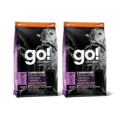 Go! 雞肉鮭魚 85% 高肉量 老犬3.5磅兩件優惠組