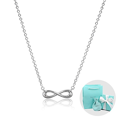 Tiffany&Co. Infinity 經典永恆無限純銀項鍊