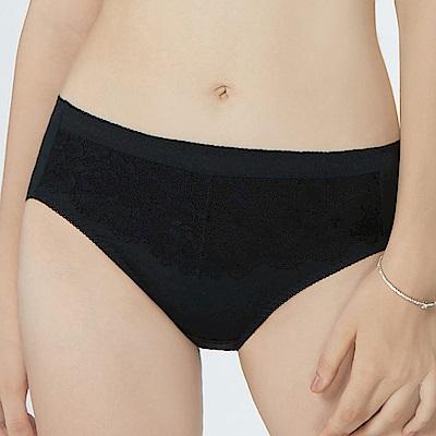 曼黛瑪璉 包覆提托經典  中腰三角內褲(黑)
