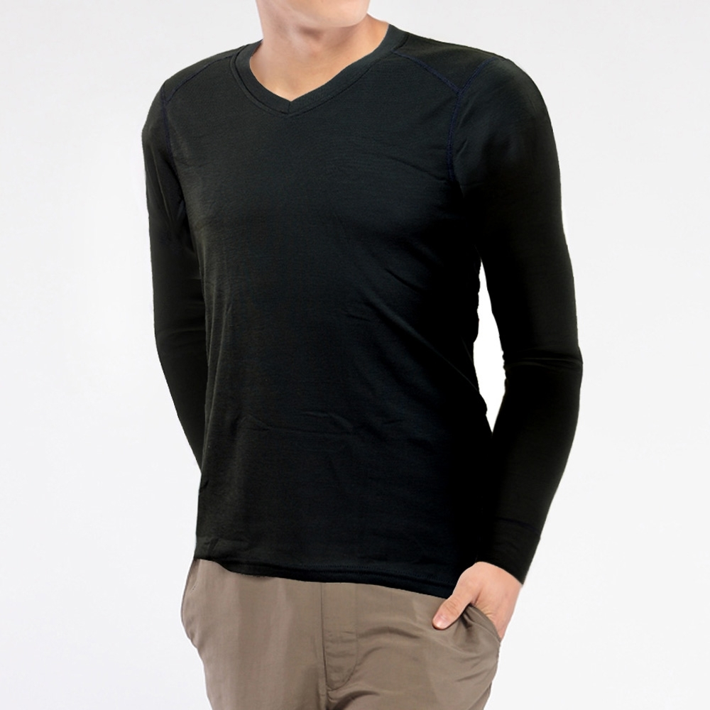 TiNyHouse TU-HH-101排汗內層保暖衣 男V領 3色可選