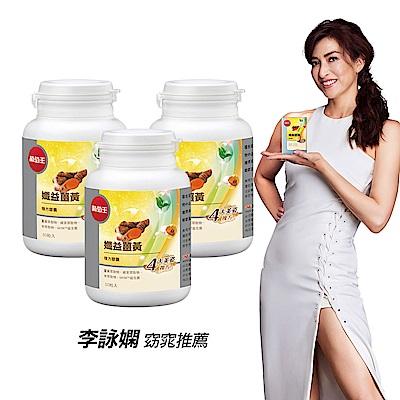 【葡萄王】孅益薑黃30粒 X3瓶 (95%高含量薑黃 促進代謝 好順暢)
