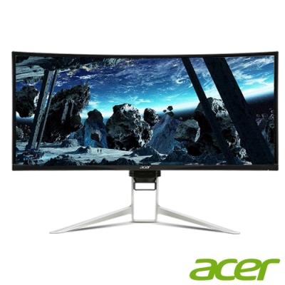 Acer XR382CQK 38型 IPS 曲面電競電腦螢幕
