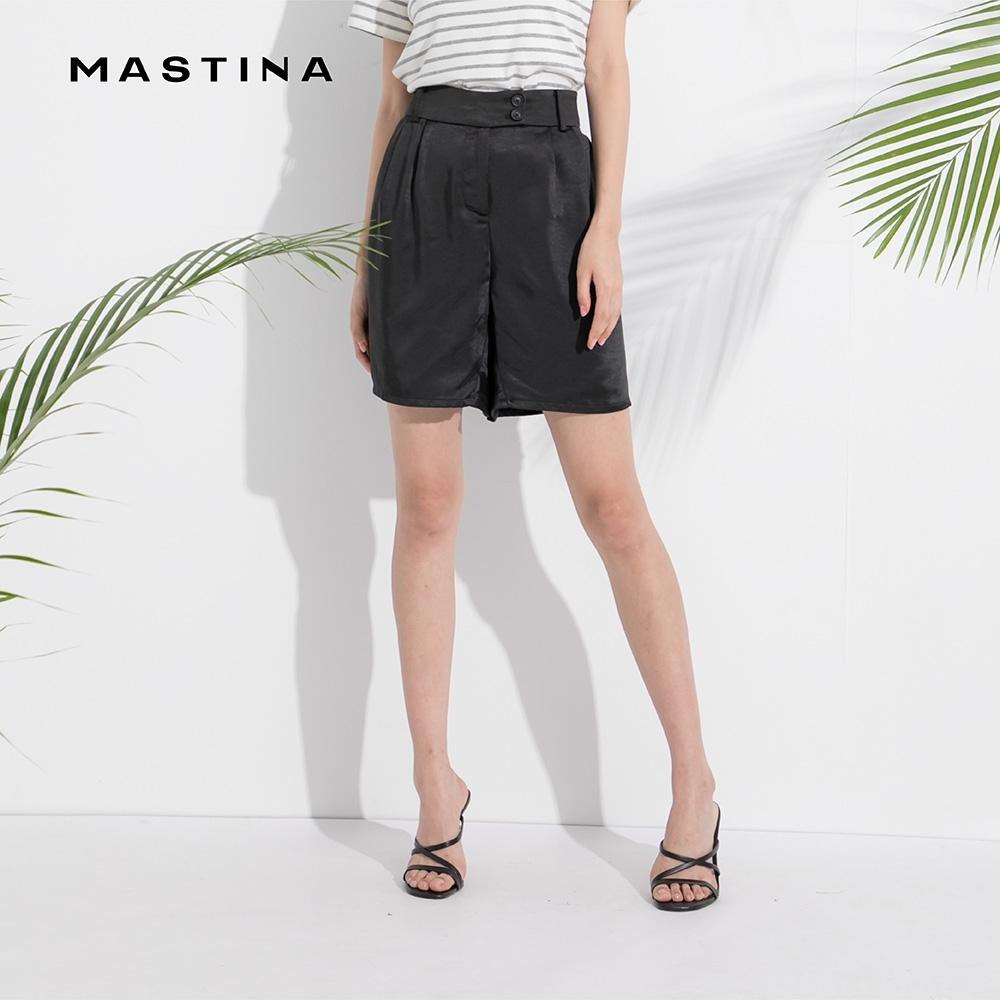 【MASTINA】上班族清爽搭配-短褲(黑色)
