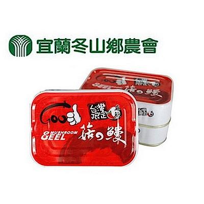 宜蘭冬山鄉農會 台灣限定 麻辣菇の鰻(3罐/1組)