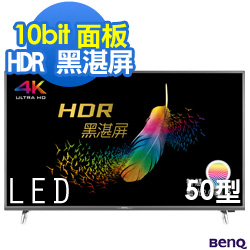 BenQ 50吋 4K HDR 連網 護眼液晶顯示器+視