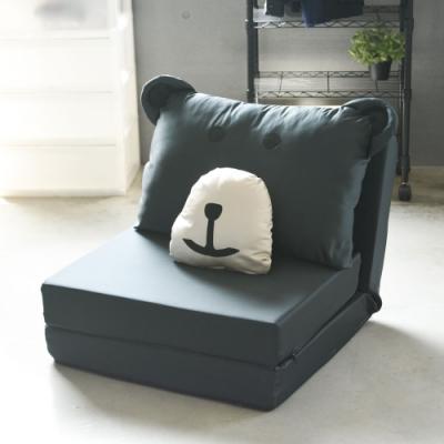 Home Feeling 單人熊造型沙發床/和室椅/沙發椅(4色)-68x63x54cm