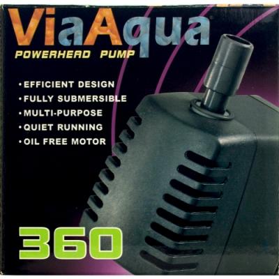 《ViaAqua》小型缸適用高效能低噪音設計沉水馬達-360