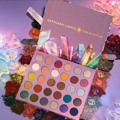 Colourpop 聯名款眼影盤 Colourpop x Kathleen Lights So Jaded水晶珠寶盤-30色
