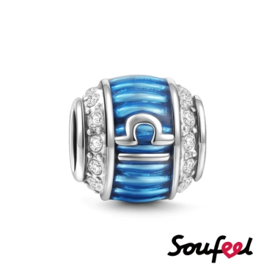 SOUFEEL索菲爾 925純銀珠飾 風象星座 天秤座 串珠