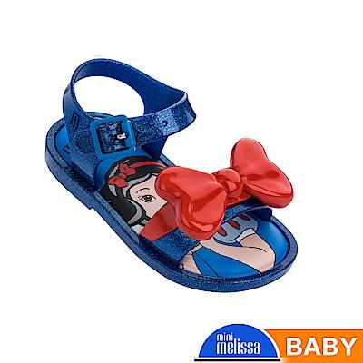 Melissa 白雪公主蝴蝶結造型涼鞋-寶寶款-藍