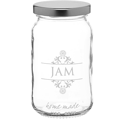 KitchenCraft 旋蓋玻璃密封罐454ml(JAM)