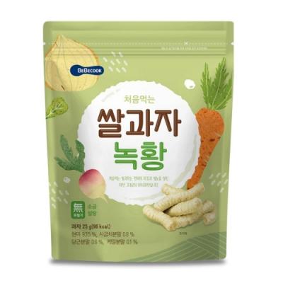 韓國 BEBECOOK 嬰幼兒米棒(蔬菜)