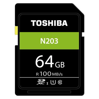 TOSHIBA N203 64GB UHS-I(U1) SDXC 100MB高速記憶卡 @ Y!購物