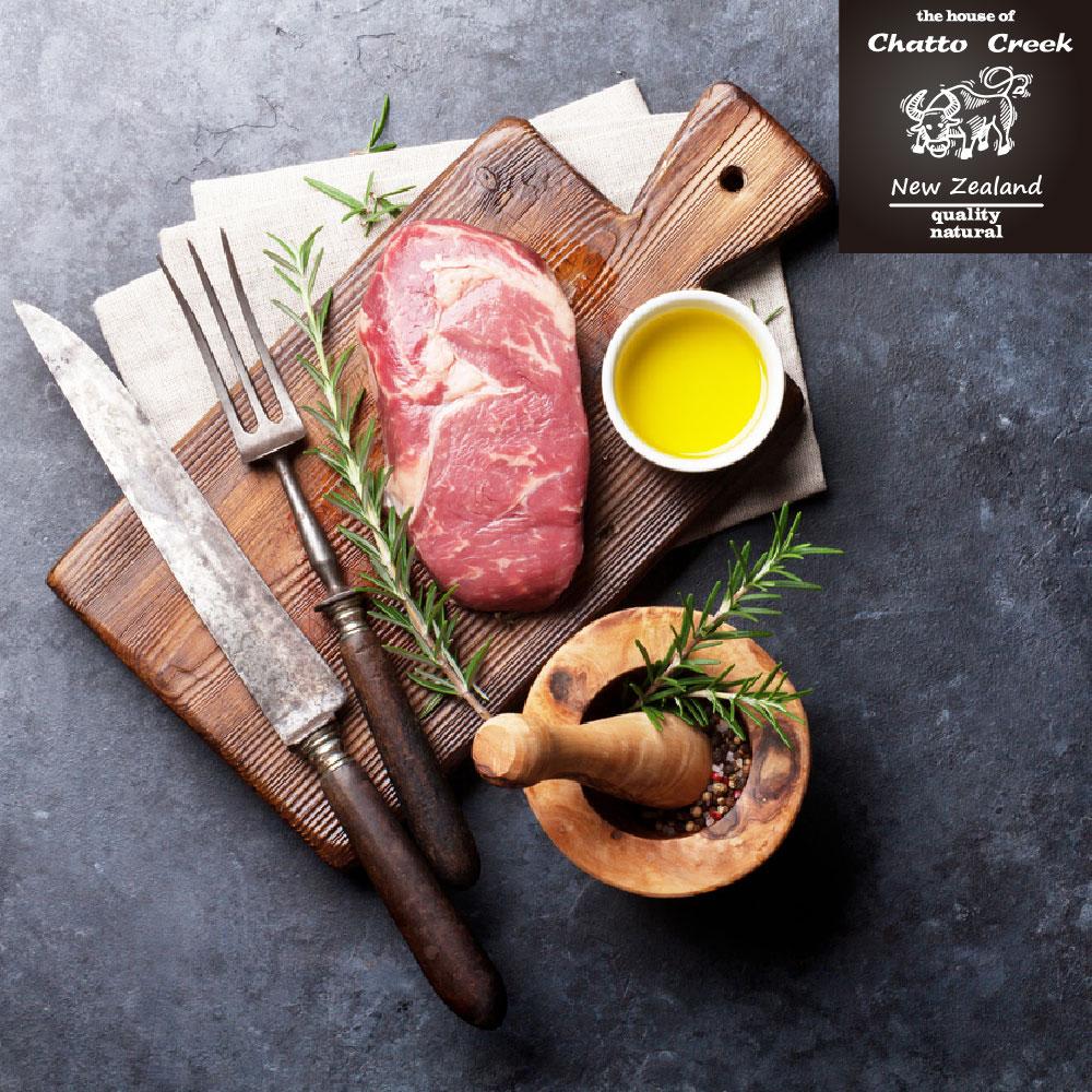 【漢克嚴選】紐西蘭ps米其林星級厚切霜降肋眼牛排8盎司12片組(220g±10%/片)