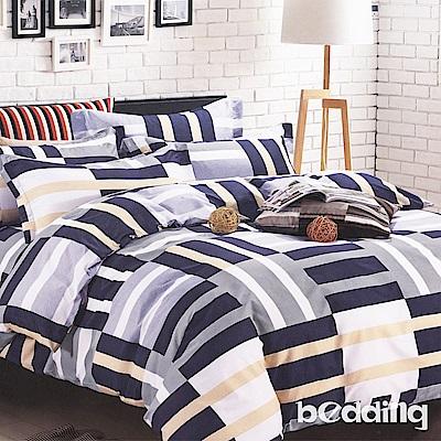 BEDDING-活性印染5尺雙人薄床包涼被組-德布爾