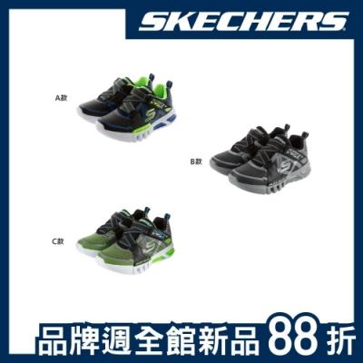 [時時樂限搶58折] SKECHERS 品牌週限定新品 男童燈鞋-3款任選
