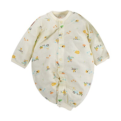 薄款純棉紗布兩用護手連身衣 b0174 魔法Baby