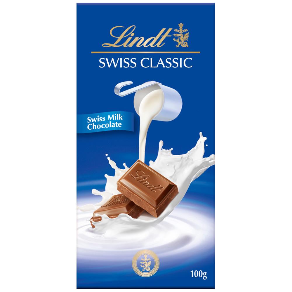 Lindt 瑞士蓮 經典牛奶巧克力(100g)