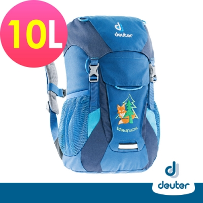 【德國DEUTER】WALDFUCHS 10L兒童背包/書包/旅遊包3610015藍/深藍