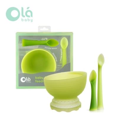 美國 Olababy 小幼苗副食品餐具禮盒
