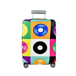 BG Berlin 行李箱套-彩色盤 M (適用22-24吋行李箱)