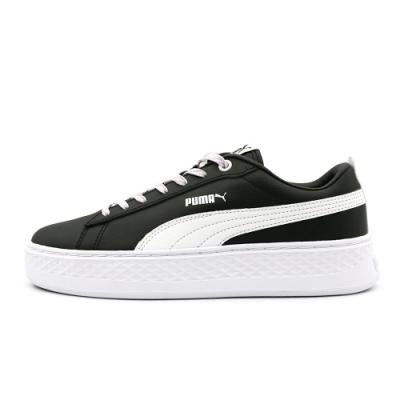 Puma Smash Platform Q4 Polka女休閒鞋-黑-36983303