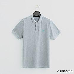 Hang Ten - 男裝 - 簡約素面POLO杉 - 灰