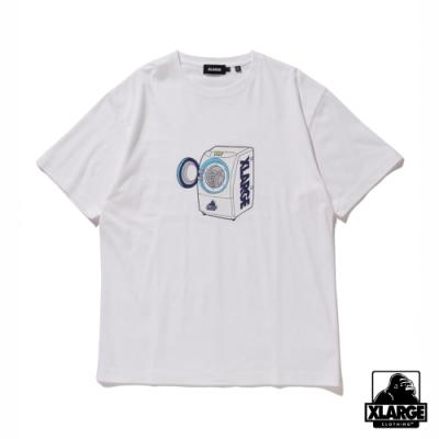 XLARGE S/S TEE WASHING MACHINE短袖T恤-白