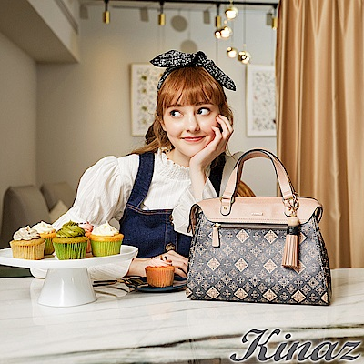 KINAZ 烘焙夢想兩用斜背包-甜點聯盟系列