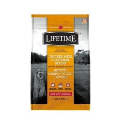 加拿大LIFETIME萊馥特-腸胃保健配方 (雞肉+燕麥) 全齡犬 25LB/11.4KG (LTD7695)