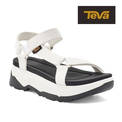 【TEVA】原廠貨 女 Jadito Universal 環保織帶軟墊厚底涼鞋/雨鞋/水鞋(白色-TV1117070WHT)