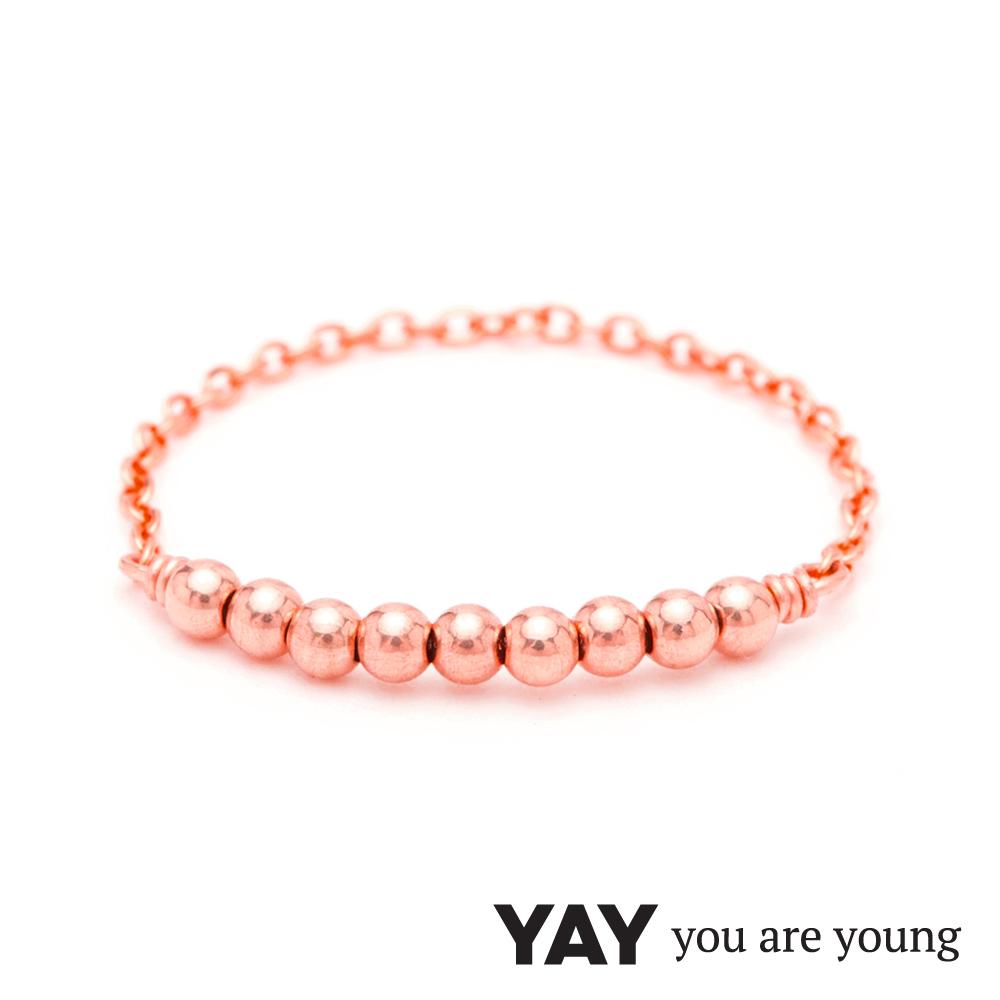 YAY You Are Young 法國品牌 Fruit Dor 雅果尾戒 迷你款 玫瑰金