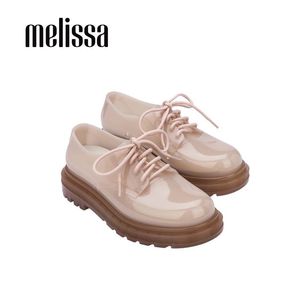 Melissa BASS質感綁帶休閒鞋-粉啡