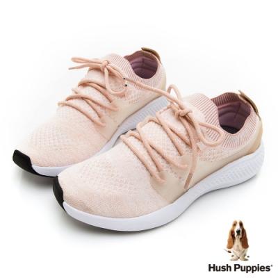 Hush Puppies Sockletweaver 女健步鞋-粉紅