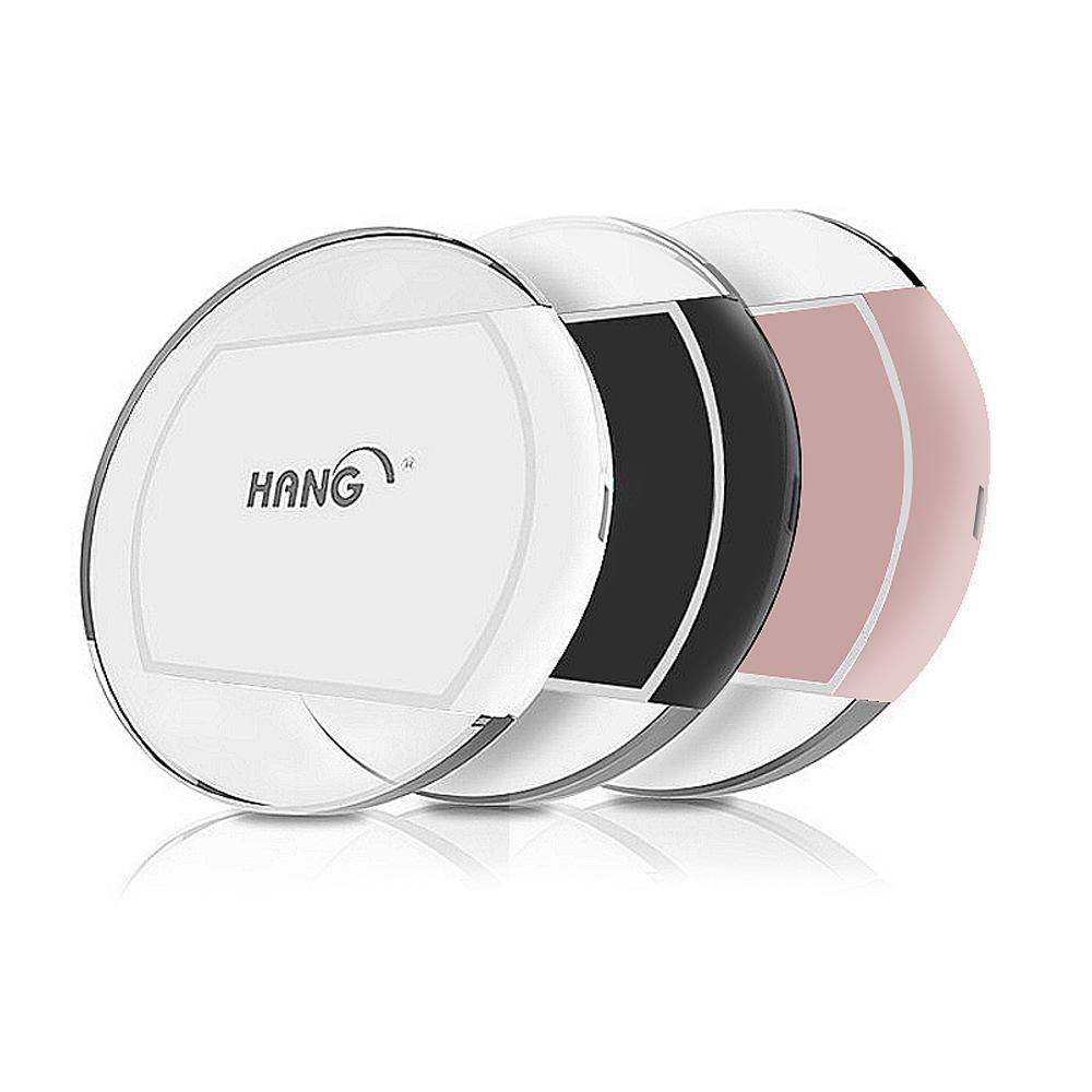 LED冷光小飛碟 HANG-W10 無線充電座 Qi無線充電板 送充電線