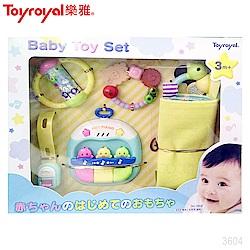 日本《樂雅 Toyroyal》寶寶成長玩具禮盒(3m以上)