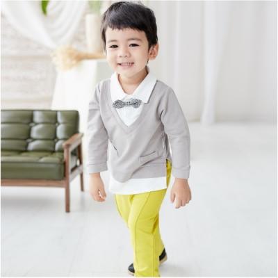 Baby 童衣 寶寶套裝 紳士造型上衣褲子 92025(共兩色)