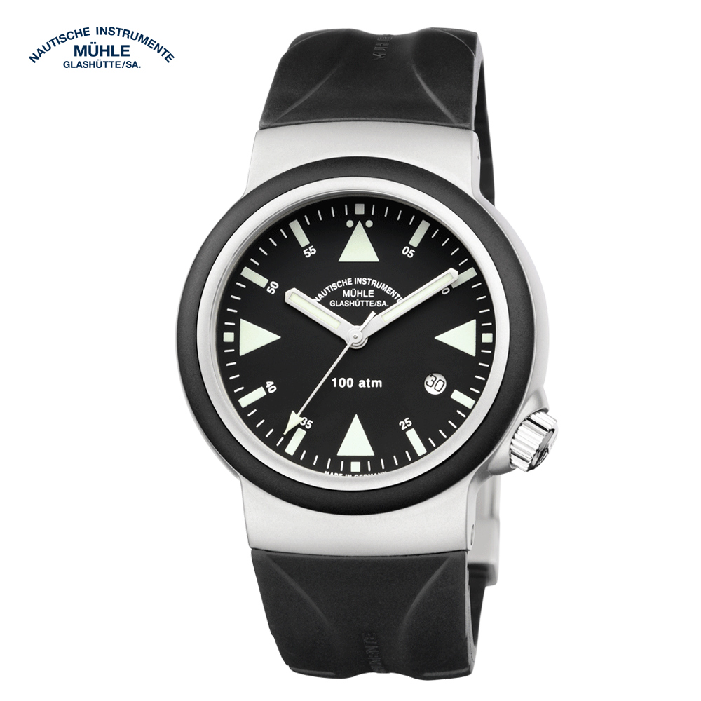 格拉蘇蒂.莫勒 航海系列 M1-41-03-KB 機械男錶