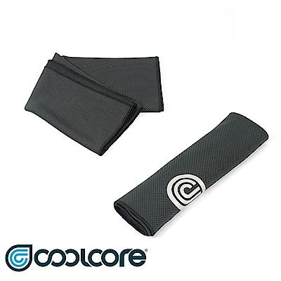 COOLCORE Chill Sport涼感運動巾【黑色】