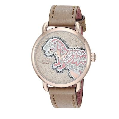 COACH 金殼暴龍時尚圈腕錶(14503162)