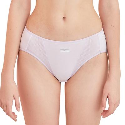 EASY SHOP-好動-低腰三角內褲-丁香紫