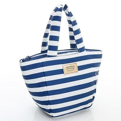 VOVAROVA空氣包-迷你托特包-經典條紋(藍)