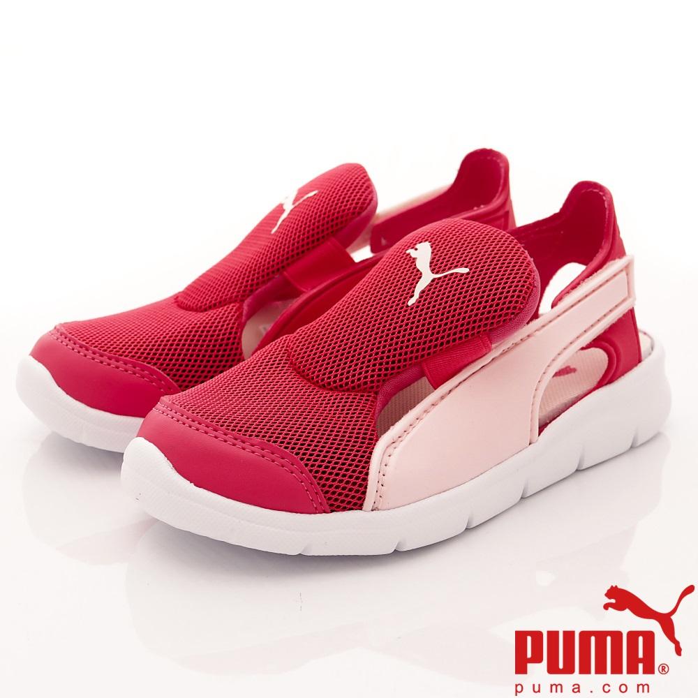 PUMA童鞋 護趾輕量涼鞋款 ON90698-02粉紅(中小童段)