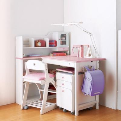KOIZUMI_DecoPri兒童成長書桌組SDF-244 W97*D76*H121 cm