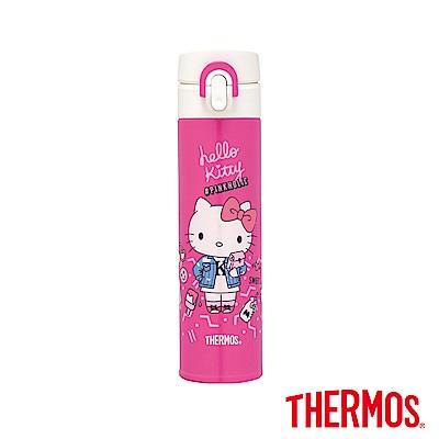 THERMOS膳魔師-不鏽鋼真空保溫瓶0-4L-J