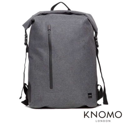 KNOMO 英國 Cromwell 英倫戶外風格電腦後背包 - 灰色 15 吋