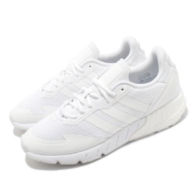 adidas 休閒鞋 ZX 1K Boost 男鞋 愛迪達 緩震 球鞋穿搭 上學 白 FX6516