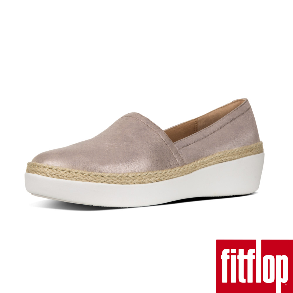 FitFlop CASA Loafers Metallic Leather-銅金