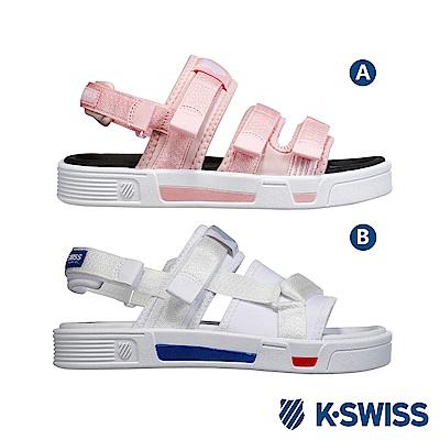 [時時樂限定]K-Swiss Trini Strap Sandal休閒涼鞋-女-共兩款