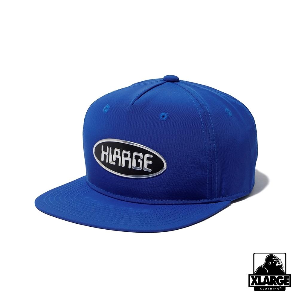 XLARGE PLATELOGO CAP棒球帽-藍色